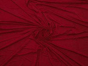 Jersey aus Bambus, unifarben Dunkelrot – Restposten zum Sonderpreis 0,54 Meter
