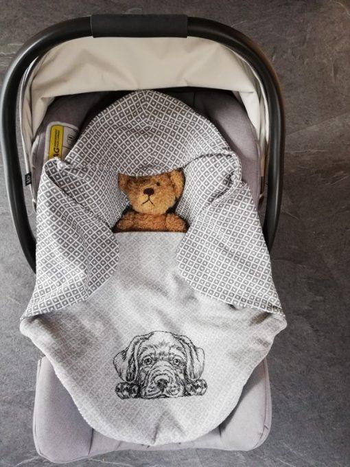 Schnittmuster Babydecke Manolo