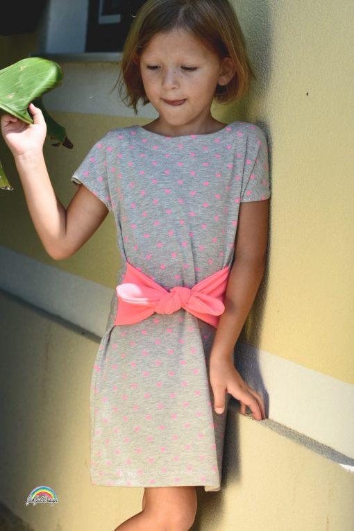 Schnittmuster Kinderkleid Manja nähen lernen einfach16