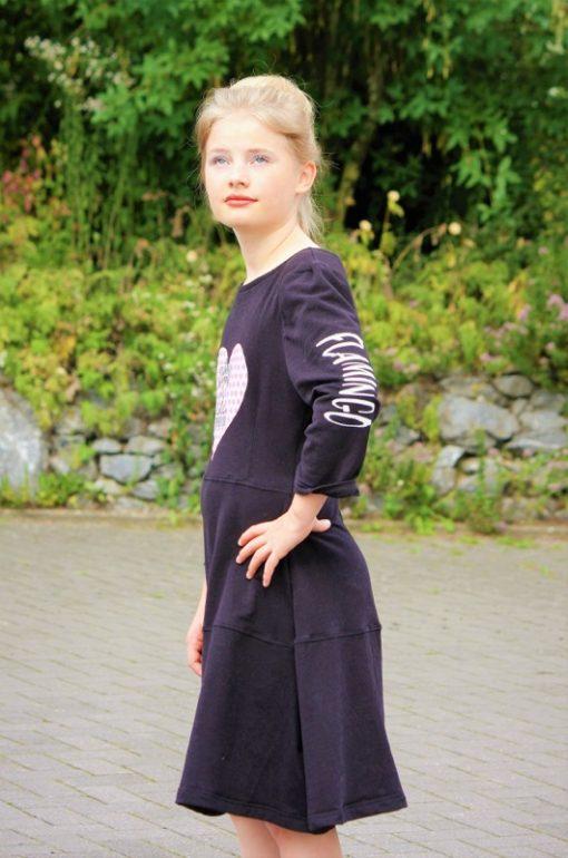 Schnittmuster Kleid Drehkleid nähen Santina1