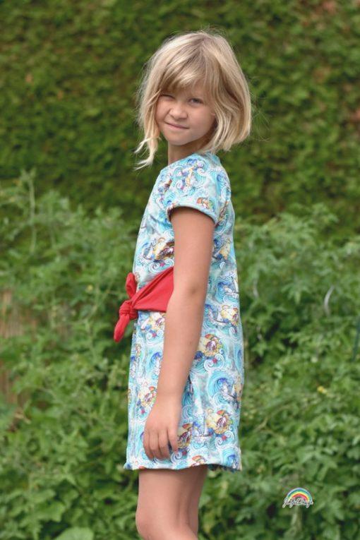 schnittmuster Manja Kinderkleid nähen lernen Zierstoff5