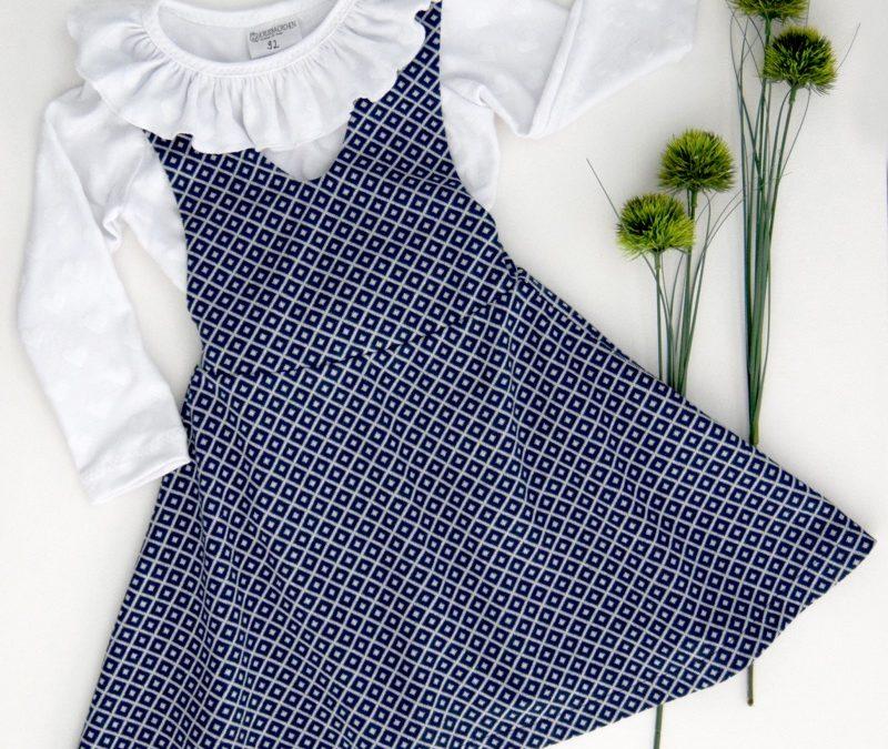 Kinderkleid Mabel und Shirt Lenya nähen