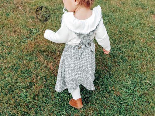 Schnittmuster Kinderkleid Mabel und Shirt Lenya2