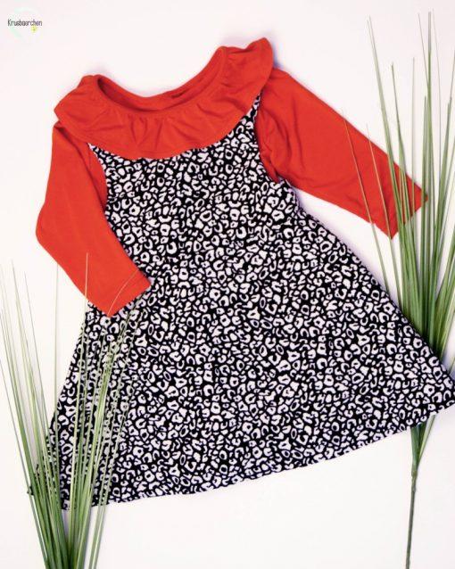 Schnittmuster Kleid Mabel Shirt Lenya Zierstoff1