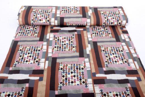 Viskosejersey Retro Farben einfach nähen 12