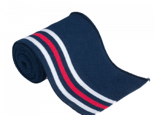 Bündchen Collegebündchen Marine Rot Weiß Streifen