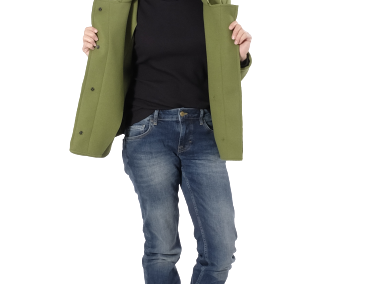 Jacke Talia Strick Fleece 1
