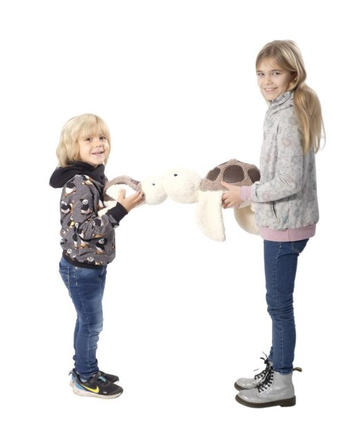 Schildkröte_Romea-Schnittmuster Kinderkuschelkissen