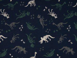 Jersey, Dinosaurier Skelette auf Marine