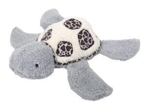 Stoffpaket Schildkröte Romea / Stoff für 2 Kuscheltiere – inkl. Schnittmuster – Grau Leo