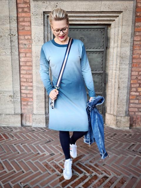 Schnittmuster Kleid Anika Farbverlauf Sommersweat - 4