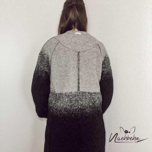 Schnittmuster Mantel Nora Wollmantel nähen