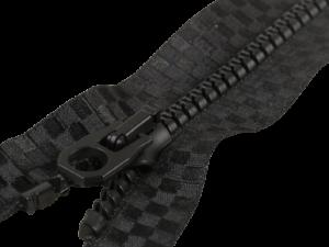 Reißverschluss Schwarz Jacken