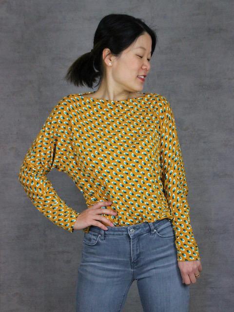 Schnittmuster Shirt Hilda Rock Lona - 10