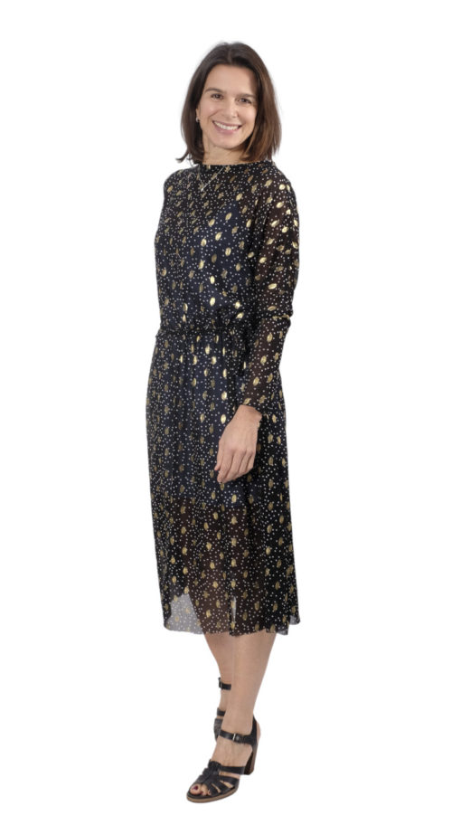 Abbildung Schnittmuster Kleid Carmen