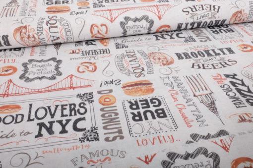 Baumwolle Canvas Burger - 1