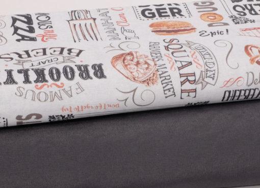 Baumwolle Canvas Burger Übersicht - 1