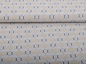 Baumwolle Canvas Orientalische Form - 1