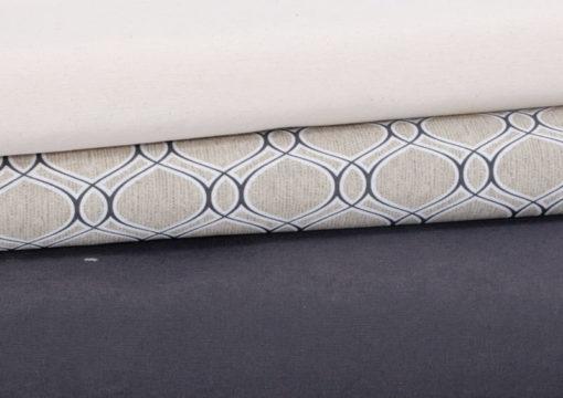 Baumwolle Canvas Übersicht Orientalische Form - 1