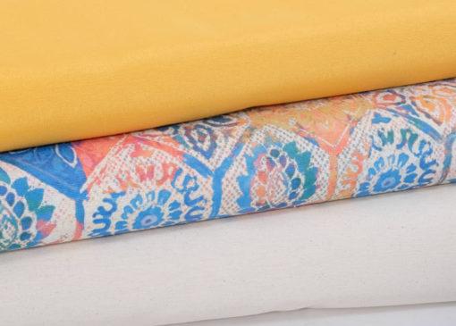 Baumwolle Canvas Übersicht Ornamente Ethno - 1