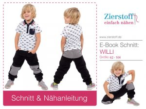 Neues Kinderschnittmuster – Hose Willi