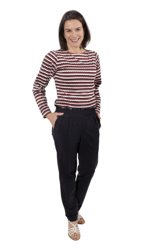 Shirt Bernice Schnittmuster Hose isabel