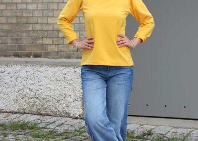 Schnittmuster Shirt Bernice Zierstoff _4