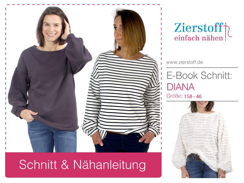 Neues Schnittmuster Shirt Diana