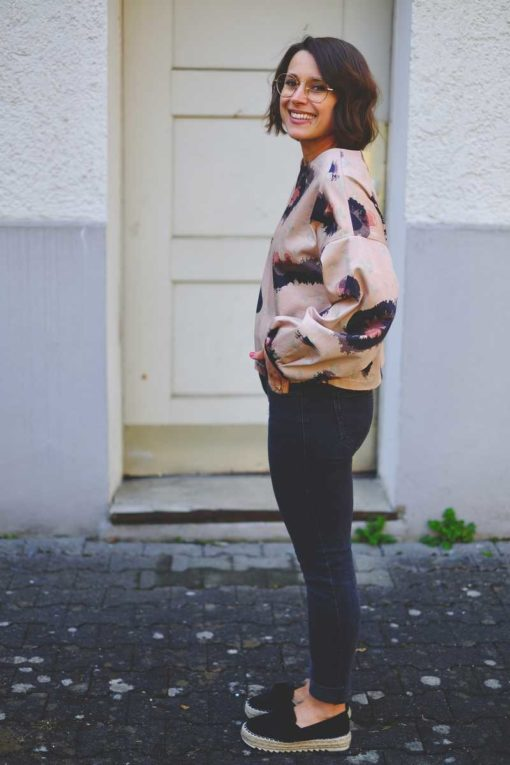 Schnittmuster Shirt Diana Zierstoff_7