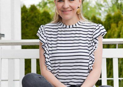 Schnittmuster Shirt Rüschen Roxanne - 14