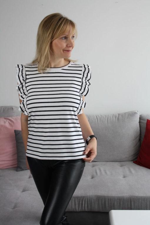 Schnittmuster Shirt Rüschen Roxanne - 2