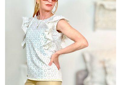 Schnittmuster Shirt Rüschen Roxanne - 4