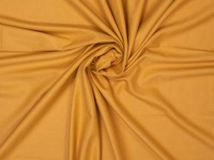 Fibre Mood Webware aus Bambus, unifarben Gelb – leicht fallend