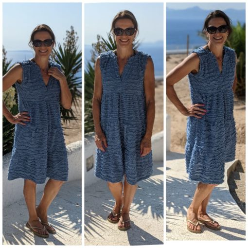 Schnittmuster Francesca Boho Kleid nähen1