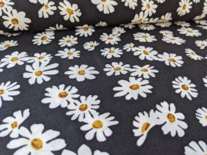 Viskose 9093-001 - Daisy Gänseblümchen