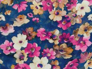 Viskose Blumen 9072-001