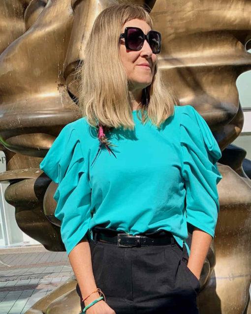 Schnittmuster Shirt Magdalena Falten