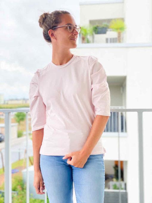 Schnittmuster Falten Shirt Magdalena - 2