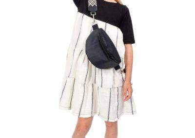 Schnittmuster Kinderkleid Hera nähen Tasche Tarika