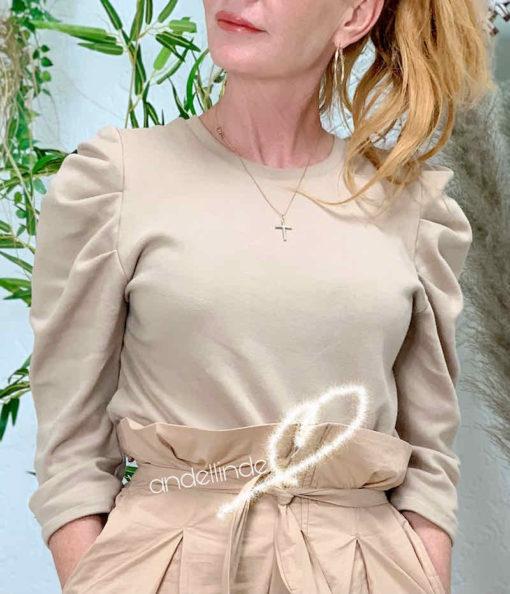 Schnittmuster Shirt Falten Damen Magdalena - 2 (1)