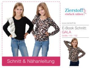 """Shirt mit Rüsche """"GALA"""", Gr. 110 – 152"""