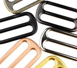 [636L] Metall Leiterschnallen 25 mm