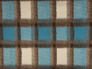 Q22467-004-Karo Blau Beige Flanell