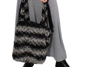 Tasche aus Teddystoff oder Fake Fur nähen